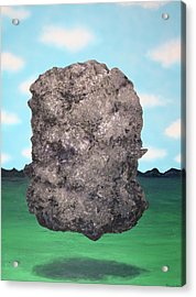 Acrylic Print featuring the painting Light Rock by Thomas Blood