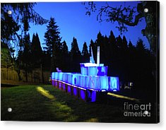 Acrylic Print featuring the photograph Light Sculpture by Bill Thomson