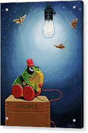 Light Snacks Original Whimsical Still Life Acrylic Print