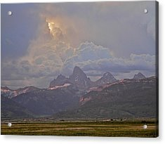 Light Storm Acrylic Print by Eric Tressler