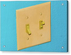 Light Switch Acrylic Print