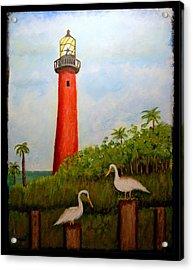 Light Tower Acrylic Print