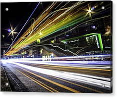 Light Trails 1 Acrylic Print