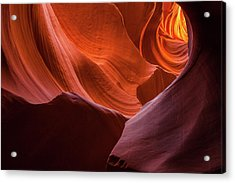 Light Tunnel - Antelope Lower Acrylic Print