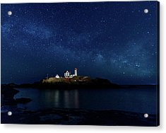 Light Up Nubble Lighthouse Acrylic Print