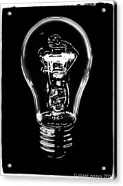 Lightbulb Acrylic Print