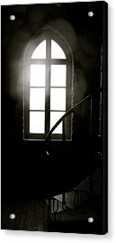 Lighted Glass Acrylic Print by Sonja Anderson