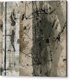 Lighthearted Calligraphy Acrylic Print