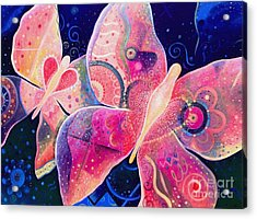 Lighthearted In Full Spectrum Acrylic Print