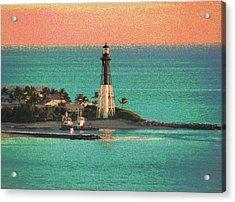 Lighthouse 1006 Acrylic Print