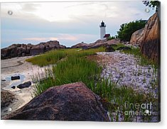 Lighthouse At Dusk Acrylic Print