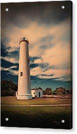 Lighthouse At Egmont Acrylic Print