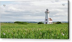 Acrylic Print featuring the photograph New London Lighthouse At French River by Rob Huntley