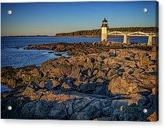 Lighthouse At Marshall Point Acrylic Print
