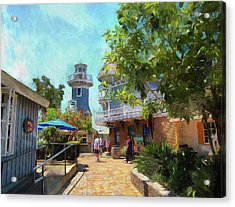 Lighthouse At Seaport Village Acrylic Print