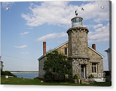 Lighthouse At Stonington Ct Acrylic Print