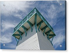 Acrylic Print featuring the photograph Lighthouse At Summerside Seaside Market. by Rob Huntley
