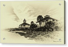 Lighthouse Boca Grande Acrylic Print by Marvin Spates