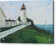 Lighthouse Calm Acrylic Print