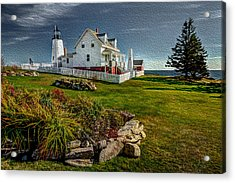 Lighthouse Home Acrylic Print