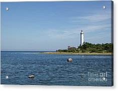 Acrylic Print featuring the photograph Lighthouse In The Baltic Sea by Kennerth and Birgitta Kullman