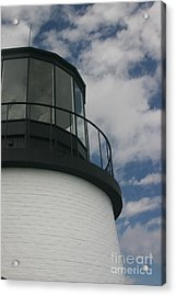 Lighthouse In The Sky Acrylic Print by Dennis Curry