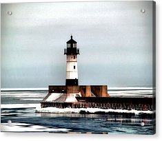 Lighthouse Acrylic Print by Jimmy Ostgard