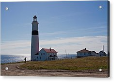 Lighthouse Labrador Acrylic Print