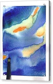 Lighthouse Acrylic Print by Mui-Joo Wee