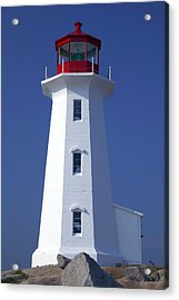 Lighthouse Peggy's Cove Acrylic Print by Garry Gay