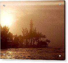 Lighthouse Point Sunrise Acrylic Print