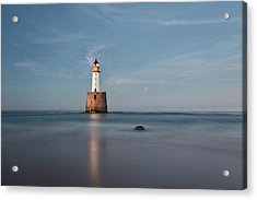Acrylic Print featuring the photograph Lighthouse Twilight by Grant Glendinning