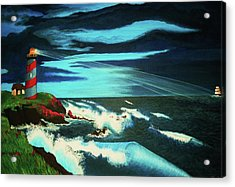 Lighthouse Rescue Acrylic Print