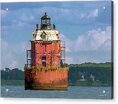 Lighthouse Restoration Acrylic Print