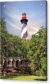 Lighthouse Acrylic Print by Richard Burr