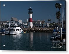 Acrylic Print featuring the photograph Lighthouse by Rod Wiens