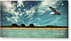 Lighthouse Scenery At List Acrylic Print by Hannes Cmarits