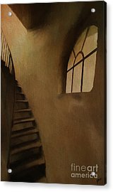 Acrylic Print featuring the photograph Lighthouse Stairs by Jim  Hatch