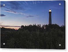Lighthouse Summer Sunrise Acrylic Print by Tom Singleton