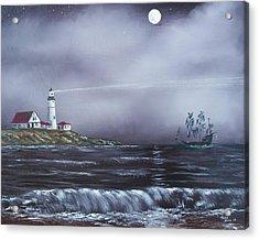 Lighthouse  Acrylic Print by Tony Rodriguez