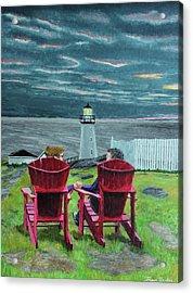 Lighthouse Lovers Acrylic Print