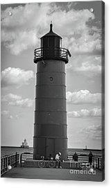 Lighthouses Of Milwaukee Acrylic Print