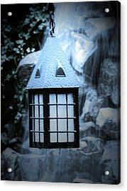 Lighting Acrylic Print by Jessica Burgett