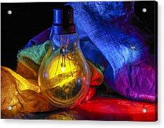 Lighting The Dark Acrylic Print by Rohan Sandhir