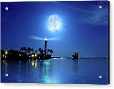 Lighting The Lighthouse Acrylic Print