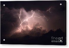 Lightning 2 Acrylic Print by Bob Christopher