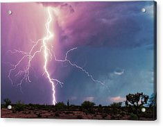 Lightning Dancer Acrylic Print