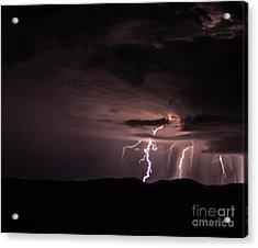 Lightning Acrylic Print