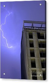 Lightning On Rivadavia Acrylic Print
