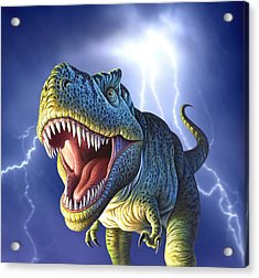 Lightning Rex Acrylic Print
